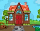 Cartoon Garden House