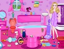 Barbie Messy Bathroom
