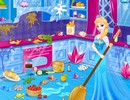 Elsa Sleepover Cleaning